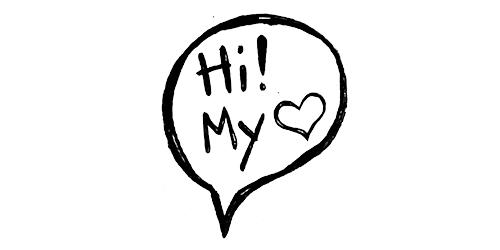 hi my love horrible logos