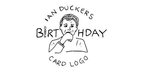 Ian Duckers Birthday Card Logo Horrible Logos
